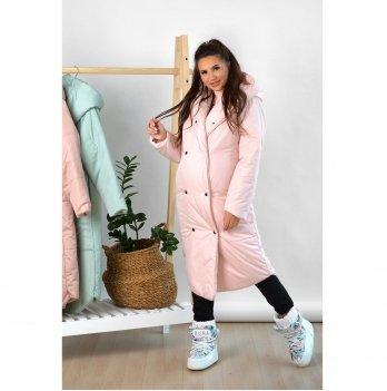 Зимняя куртка для беременных To Be Пудровый 2734274