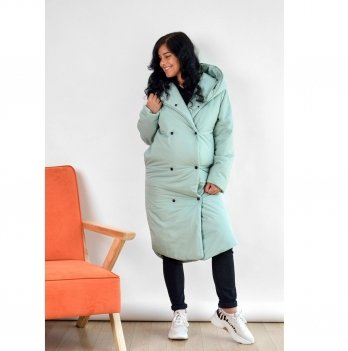 Зимняя куртка для беременных To Be Мятный 2734274