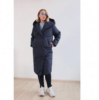 Зимняя куртка для беременных To Be Синий 2734274