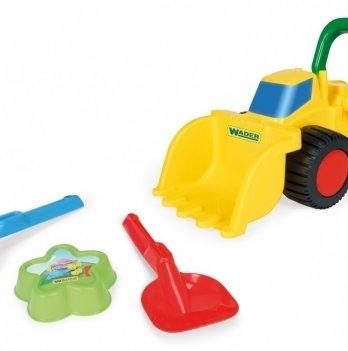 Набор игрушек для песка, Wader с бульдозером
