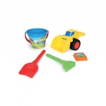 Набор игрушек для песка, Wader с бульдозером IML