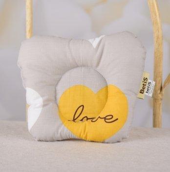 Подушка ортопедическая Бетис Сладкие сны-1 Мини 0+ Серый 27683656 20х25 см