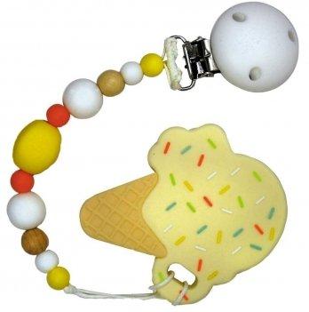 Прорезыватель Tini World Кремовое мороженое