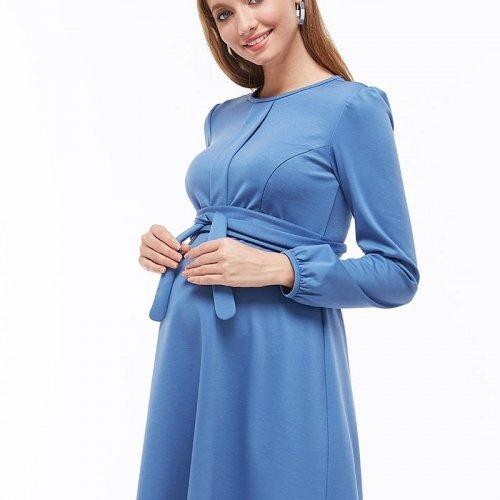 Платье для беременных и кормящих MySecret Shante DR-39.081 темно-голубой