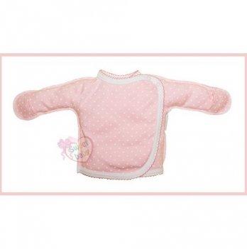 Распашонка SWEET BABY Бусинка, розовая