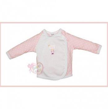 Распашонка SWEET BABY Бусинка-Свит бейби, розовая