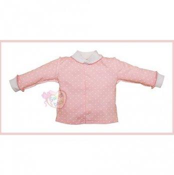 Кофточка SWEET BABY Бусинка, розовая