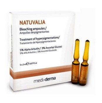 Сыворотка для кожи Sesderma Natuvalia, с отбеливающим эффектом, 5 х 2 мл