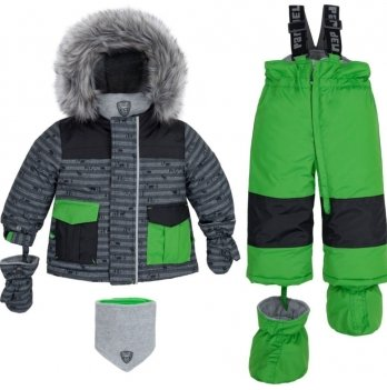 Зимний детский термо-комплект Deux par Deux L503 W19 цвет 275