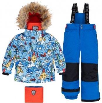 Зимний детский комплект 3 в 1 Deux par Deux N803 W19 цвет 589