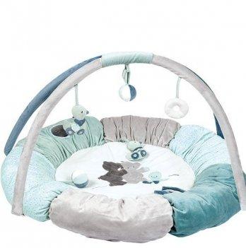Развивающий коврик с дугами и подушками Nattou, Джек, Юлий и Нестор