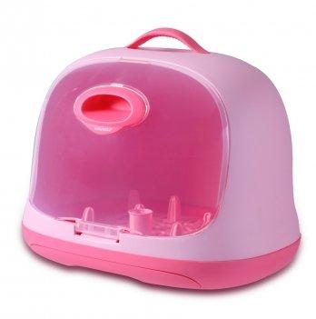 Сушилка для бутылочек Babyhood, розовая