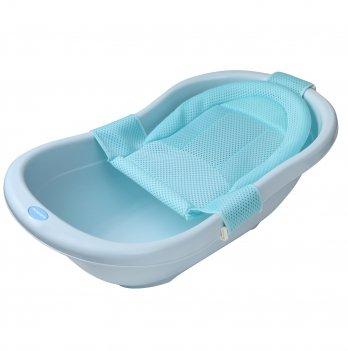 Горка натяжная Babyhood в ванночку, голубая