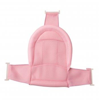 Натяжная горка для купания младенцев Babyhood в ванночку, розовая