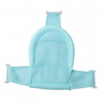 Натяжная горка для купания младенцев Babyhood в ванночку, голубая
