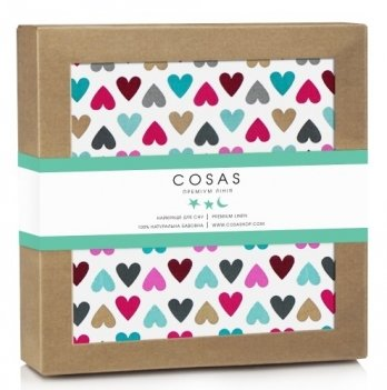 Непромокаемая пеленка Cosas Diaper Love 70х120 см