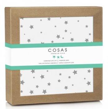 Непромокаемая пеленка Cosas Starfalls White 70х120 см