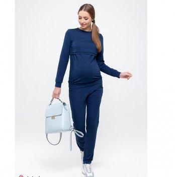 Спортивный костюм для беременных и кормящих MySecret Kortney Синий ST-49.051