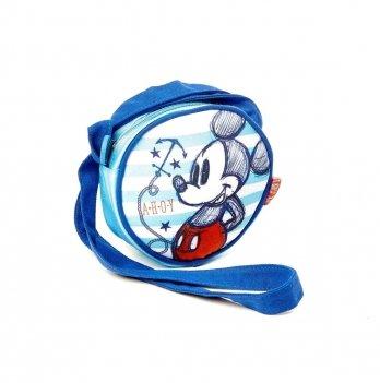Сумка круглая Disney Минни Маус (Minnie) голубая