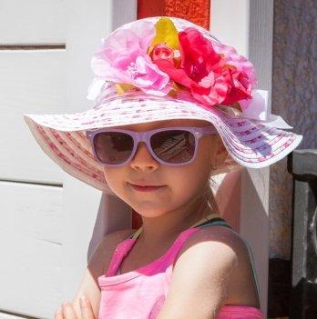 Шляпка с цветами Tutu, для девочки