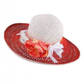 Шляпа для девочек Tutu 3-002563 теракотовый