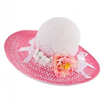 Шляпа для девочек Tutu 3-002563 розовый