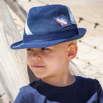 Шляпа с нашивками Tutu, для мальчика