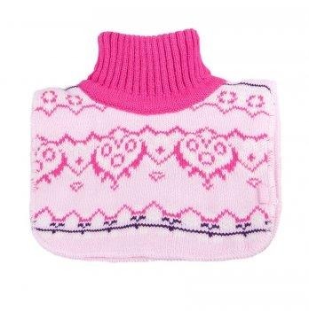 Манишка вязаная для девочки Tutu 3-002896, розовая