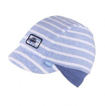 Шапка трикотажная для мальчика Tutu 3-003639, голубая