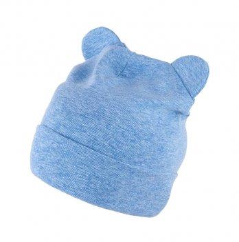 Шапка трикотажная для малышей Tutu 3-003640, голубой