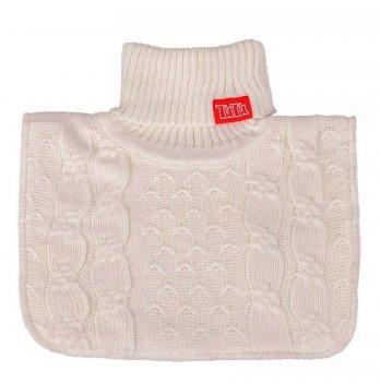 Манишка вязаная для девочки Tutu 3-003828, белая