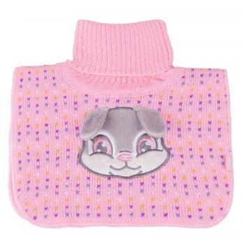 Манишка вязаная для девочки Tutu 3-003831, розовая