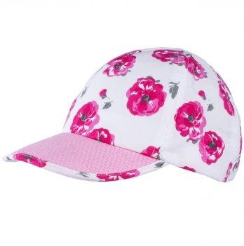 Бейсболка хлопковая для девочек Tutu 3-004499 розовый