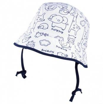 Хлопковая панамка для мальчика с ушками Tutu 3-004506 синий