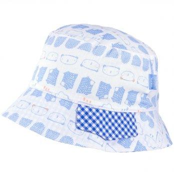 Хлопковая панамка для мальчика Tutu 3-004507 голубой