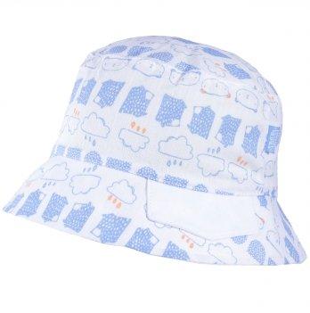 Хлопковая панамка для мальчика Tutu 3-004507 белый