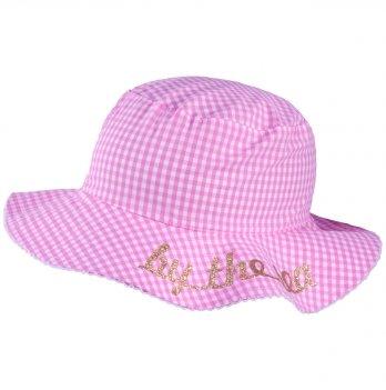 Панамка для девочек Tutu 3-004510 розовый