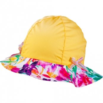 Панамка для девочек Tutu 3-004520 желтый