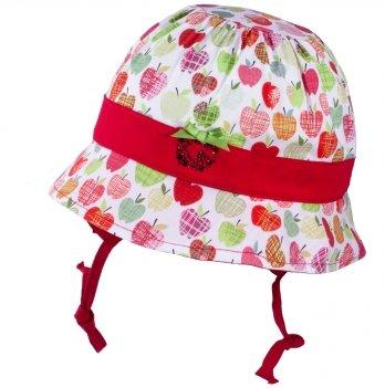 Панамка для девочек Tutu 3-004521 красный