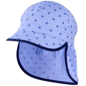 Хлопковая кепка-бандана для мальчика Tutu 3-004524 голубой