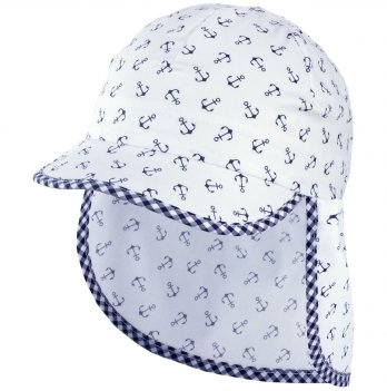 Хлопковая кепка-бандана для мальчика Tutu 3-004524 белый