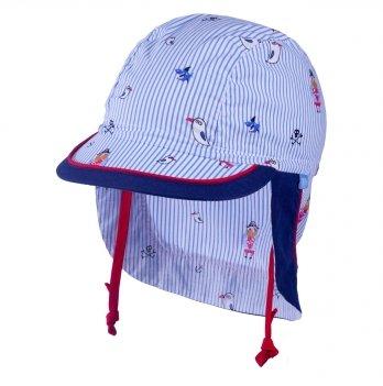 Хлопковая кепка-бандана для мальчика Tutu 3-004527 синий