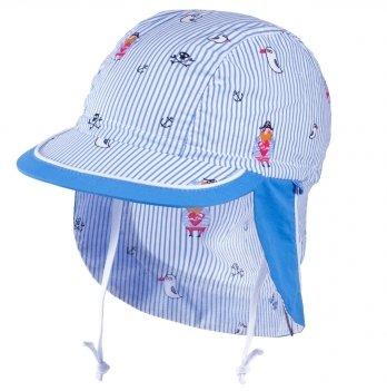 Хлопковая кепка-бандана для мальчика Tutu 3-004527 голубой