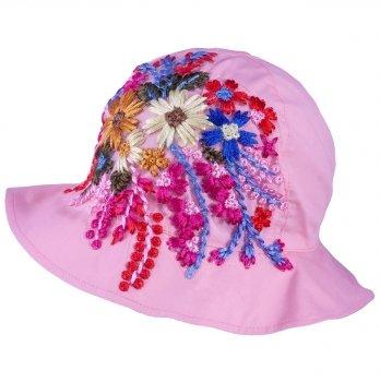 Панамка для девочек Tutu 3-004533 розовый
