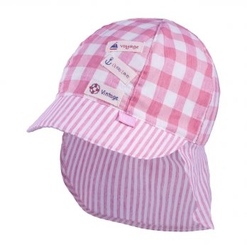 Кепка-бандана хлопковая Tutu 3-004559 розовый