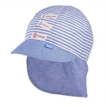 Кепка-бандана хлопковая Tutu 3-004559 голубой