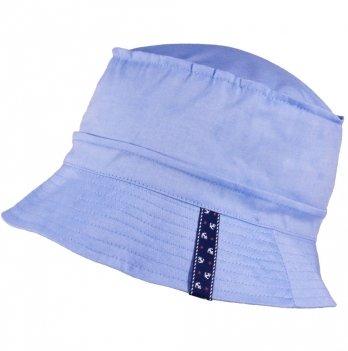 Хлопковая панамка для мальчика Tutu 3-004560 голубой