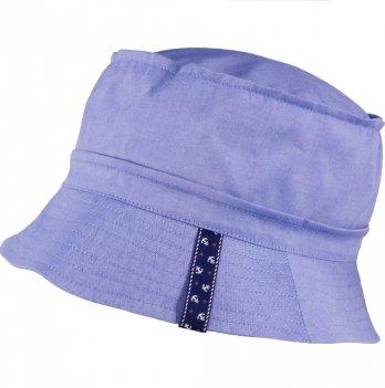 Хлопковая панамка для мальчика Tutu 3-004560 темно-голубой