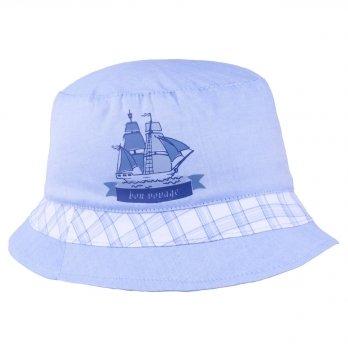 Хлопковая панамка для мальчика Tutu 3-004575 голубой