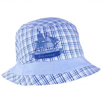 Хлопковая панамка для мальчика Tutu 3-004575 синий